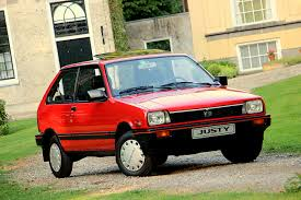 subaru justy 1987 subaru justy j10s sunroof with only 14 500 km u0027s in original