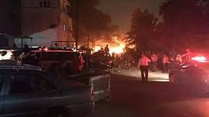 Car Interior Smoke Bomb Car Bomb Blast Kills Three In Central Baghdad Medics