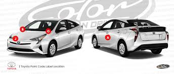 toyota touch up paint find touch up color for toyota color n drive