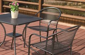 powder coated dining set jha 002a decon designs outdoor