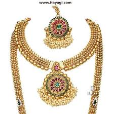 indian necklace set images Bridal necklace traditional south indian necklace set hayagi jpg