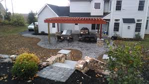 patio installation mason hardscaping services center valley pa