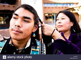 free mative american braids for hair photos albuquerque new mexico united states native american mother