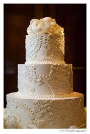 Mehndhi And Lace Inspired Wedding Cake For An Indian Wedding