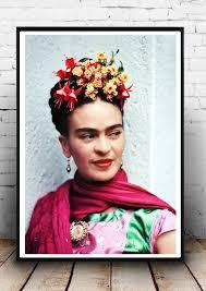frida kahlo home decor print wall art icon fashion art
