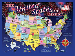 map of us states poster the usa states map southeast states map find the us states quiz