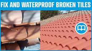 Concrete Tile Roof Repair Waterproof Roof Prevent Water Infiltration Through Roof Cracks