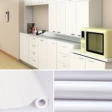stickers meuble cuisine 5m papier peint adhésif rouleaux reconditionné pour armoires de