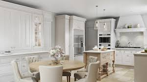 Interior Of A Kitchen 3d Architectural Rendering Of A Kitchen With A Touch Of Spring