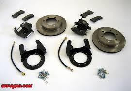 toyota tacoma brake upgrade disc brakes for your toyota 4x4 land cruiser road com