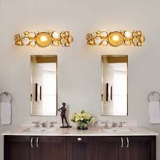 Gold Bathroom Light Fixtures 20 Mesmerizing Gold Bathroom Light Fixtures Ideas 200