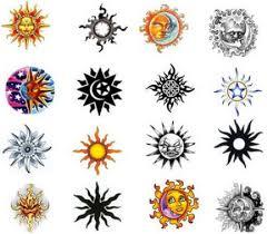 sun designs meanings allcooltattoos com