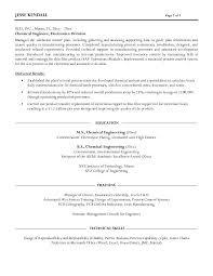 Sample Engineer Resume by Download Chemical Engineer Resume Haadyaooverbayresort Com