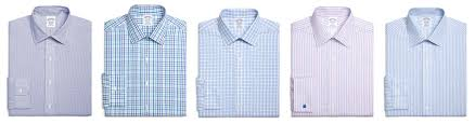shirt collars and cuffs brooks brothers