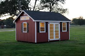 Photo Gallery Of The Lancaster Style Shed From Overholt In - Backyard shed design ideas