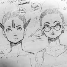 dark elf sketches imgur
