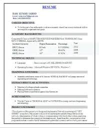 Sql Resume For Freshers Sample Achievements In Resume For Freshers U2013 Topshoppingnetwork Com