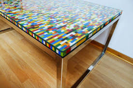 Hacker Table Never Too Many Colors Aka Another Lego Table Ikea Hackers