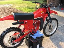 honda cr 125 honda cr125r red rocket 1979 restored classic motorcycles at