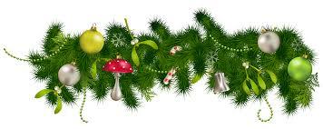 christmas garland border transparent u2013 happy holidays