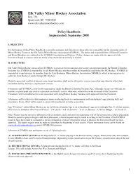 Coaching Resumes Hockey Coach Cover Letter Buenaweb Co