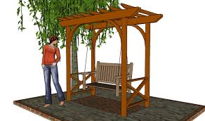 arbor swing plans lean to pergola plans cedar creek log furniture diy pdf plans