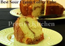 preety u0027s kitchen best sour cream coffee cake with streusel