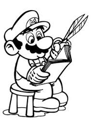 printable mario coloring pages printable super mario 3d land bowser characters coloring pages