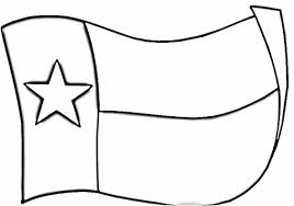 free coloring pages of texas map outline texas flag coloring page