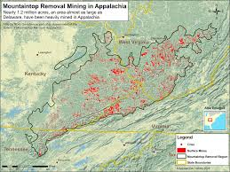 Map Of Mountains In United States by Ilovemountains Org U2014 What Is Mountaintop Removal Coal Mining