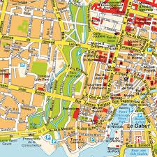 Map Of La Area Map La Rochelle La Pallice Poitou Charentes France Maps And