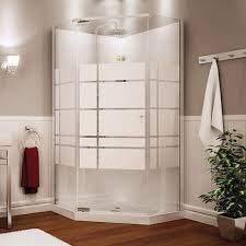 Maax Shower Door Begonia 36 Frameless Neoangle Shower Unit By Maax Bargain Outlet