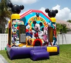 mickey mouse clubhouse bounce house party rental miami theme bounce houses toddler bounce house