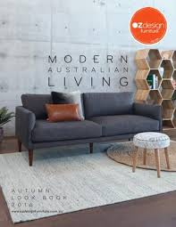 Oz Design Sofa Bed Modern Australian Living Oz Design Furniture Autumn Look Book By
