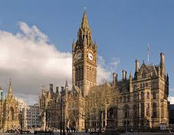 Map Of Manchester England by Google Map Of Manchester United Kingdom Nations Online Project