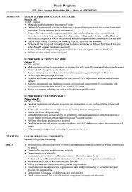 accounts payable resume exle supervisor accounts payable resume sles velvet