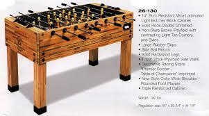 Regulation Foosball Table Brandon Jack Billiards Tables