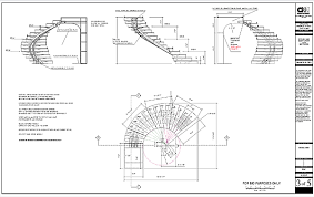 circular staircase plans best 9 stairs spiral staircase