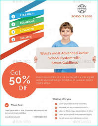 brochure design templates for education 20 professional educational psd school flyer templates