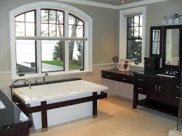 20 bathroom decorating ideas neutral bathroom with a great view