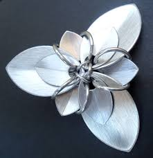 Flower Clips For Hair - large flower hair clips lanza creations handmade jewelry and