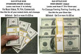prop money fake money stage money music video prop rentals