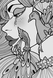 related peacock coloring pages item 11026 peacock coloring pages