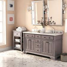 carolina 60 white double sink vanity by lanza costco 1099 99 casanova 60 antique gray double sink vanity by
