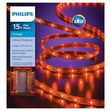 philips 135ct halloween led flat lights orange target