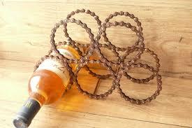 reclaimed bicycle chain wine rack u2013 the camphor tree
