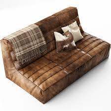 sofa shabby 3d shabby sectional sofa cgtrader