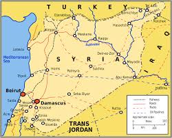 Maps Syria by Battle Of Damascus 1941 Wikipedia