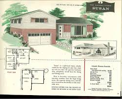 vintage house plans 1960s homes mid century 50s