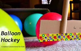 balloon hockey super simple inside gross motor game creative